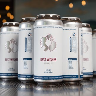 Best Wishes IPA cans
