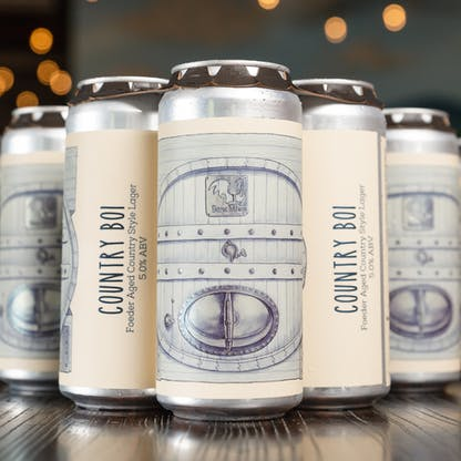 Country Boi Lager Cans