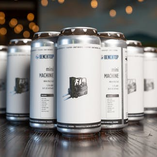 Mini Machine IPA cans