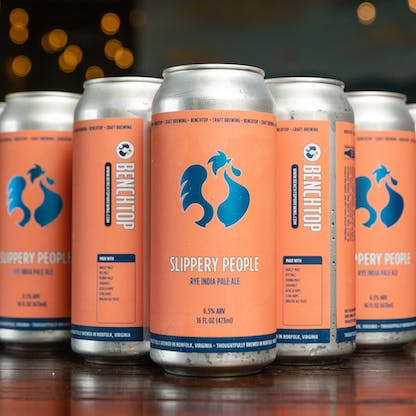 Slippery People cans