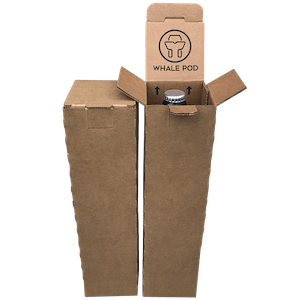 2 beer bottle shipping box wine