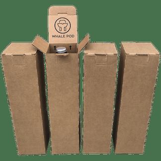 4 bottle wine beer shipper box