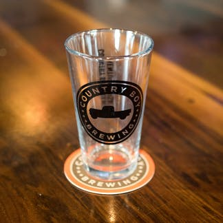 Shaker Pint Glass