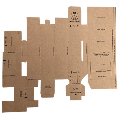 beer wine shipping box