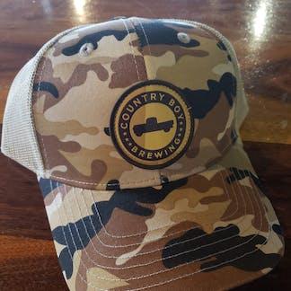 Camo Logo Country Boy Hat
