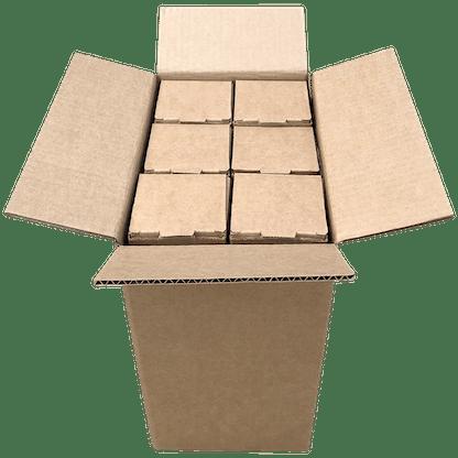 bottle shipping boxes 500ml 750ml