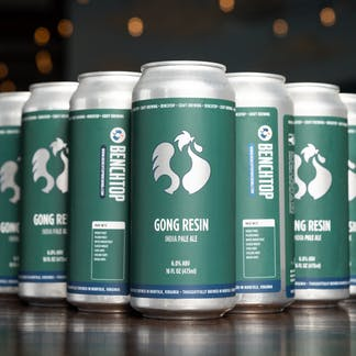 Gong Resin cans
