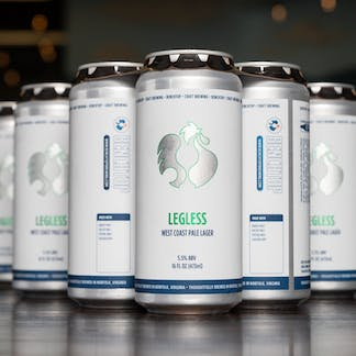 Legless Lager cans