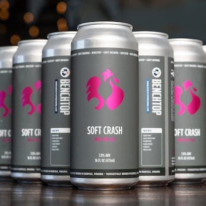 Soft Crash Mosaic IPA cans