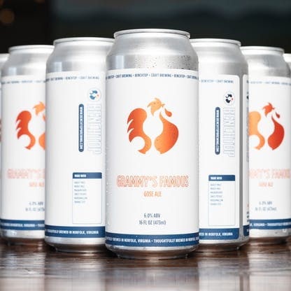 Grammy's Famous- Gose cans