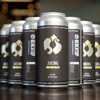 Juicing Sour IPA cans