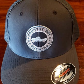 Gray Flex Fit Country Boy Hat