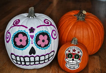 Pumpkin Painting Party 10/16/21