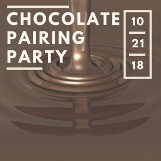 Chocolate Pairing Party
