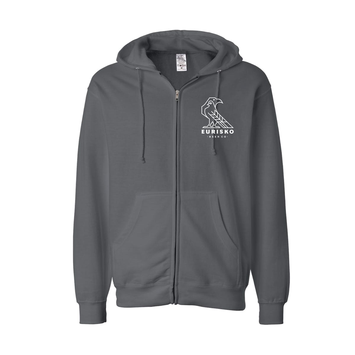 Copy of hoodie-logo-gray-front